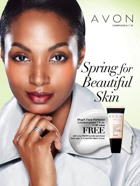 Spring for Beautiful Skin Campaign 6/7 2016