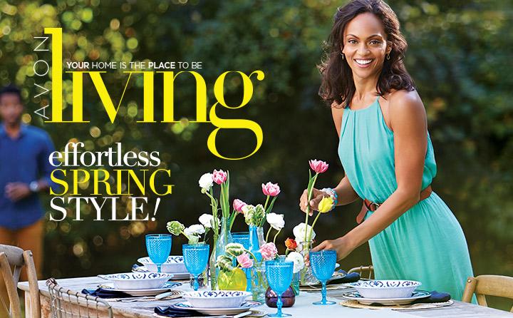 Avon Living Spring Style