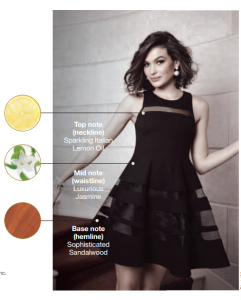 Avon Little Black Dress Notes