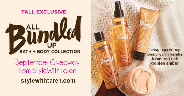 Avon Giveaway Mark All Bundled Up Collection