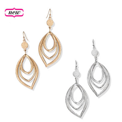 Double Luxe Loop Earrings
