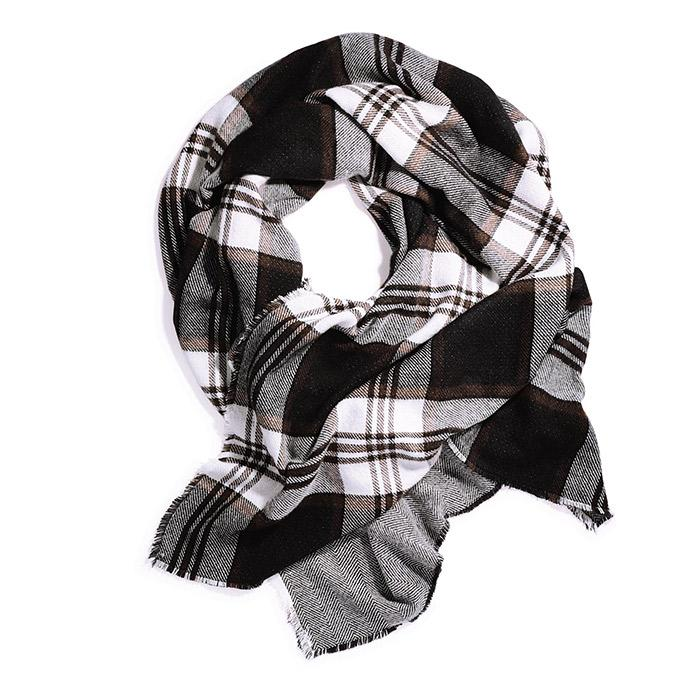 Mark Blanket Check Scarf