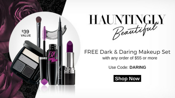 FREE Dark & Daring Makeup Set