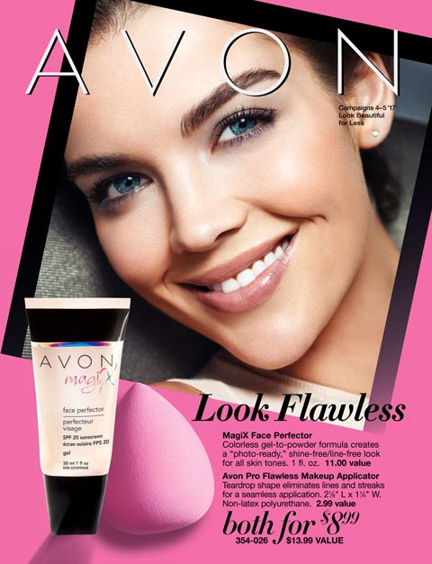 AVON Look Beautiful For Less Flyer
