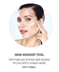 Click here to use the skin advisor tool.