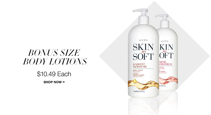 AVON Skin So Soft Bonus Size Body Lotion