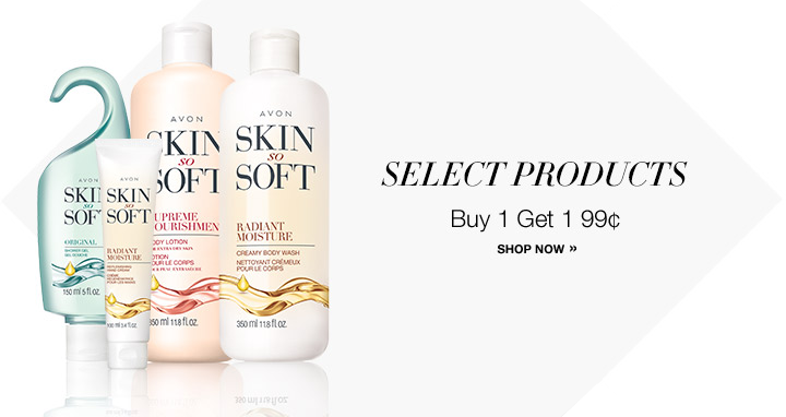 AVON Skin So Soft - Buy 1, Get 1 for 99¢
