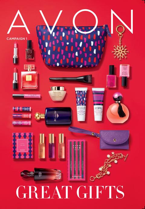 Avon eBrochure - Campaign 1 2018