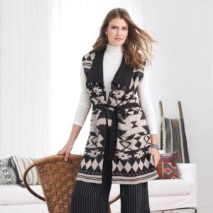 Avon The New Southwest Collection Zoey Knit Vest Look