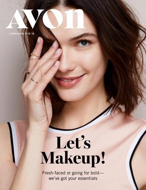 Avon Let's Makeup Book 17-18